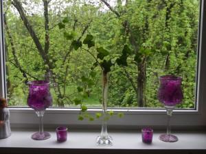 blumen in der vase efeu gartenelfe. Black Bedroom Furniture Sets. Home Design Ideas