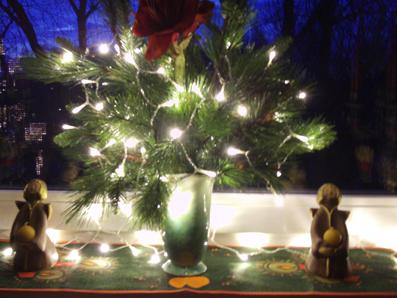 Leuchtende weihnachtsdeko mit engel gartenelfe - Leuchtende weihnachtsdeko ...