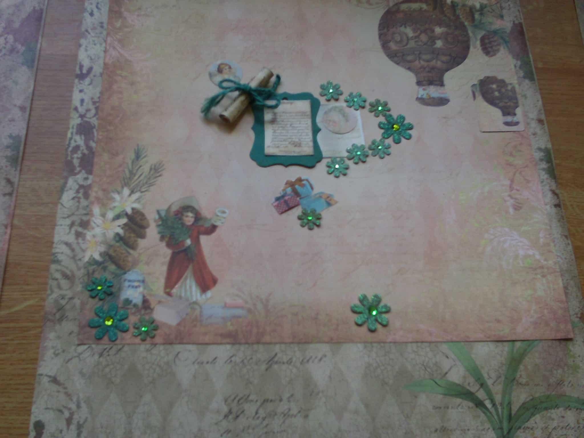 Entzückend Weihnachtsdeko Aus Papier Beste Wahl Decoupage Deko Drinnen Weihnachten